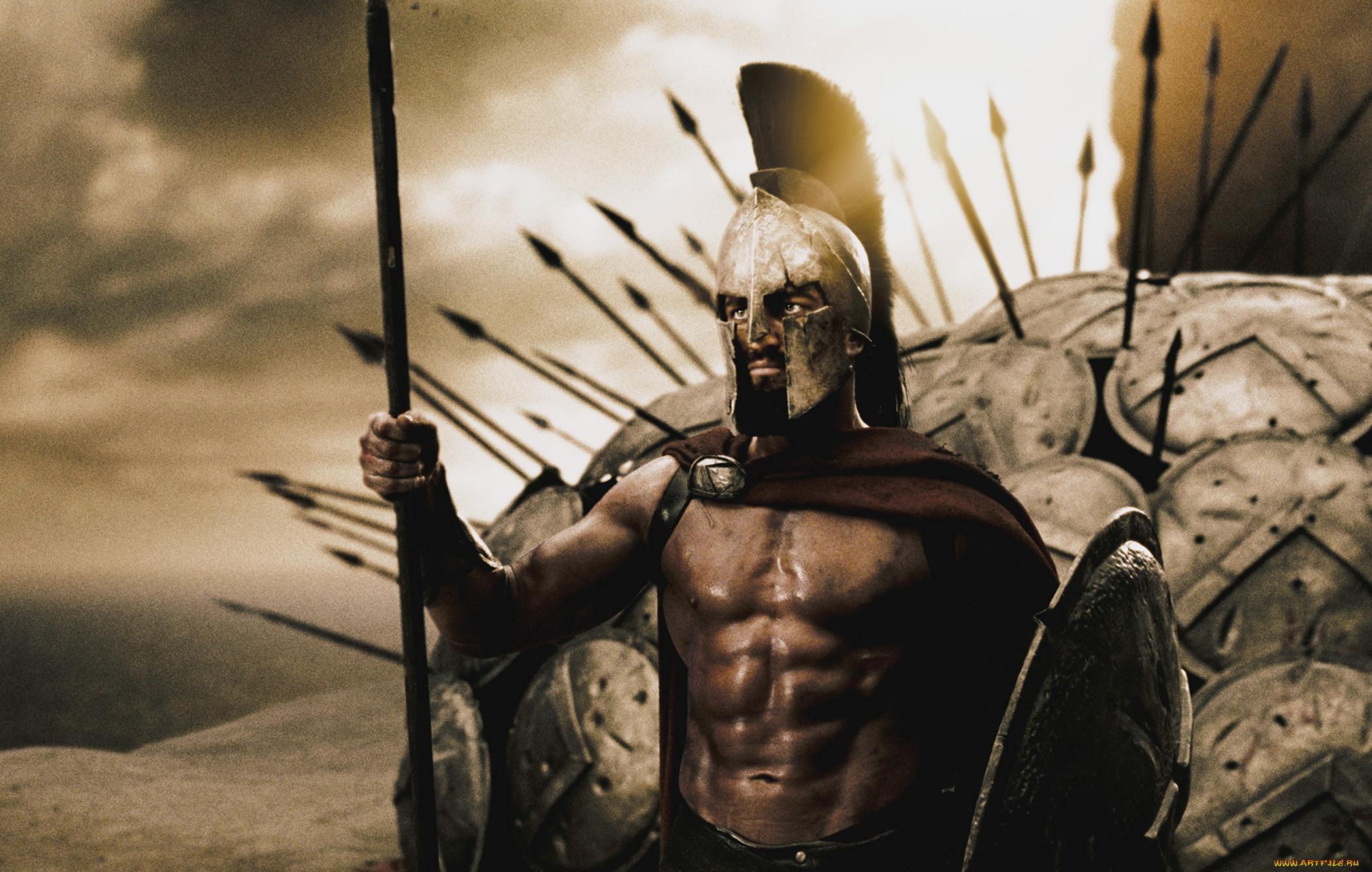 фото со спартанцами собачки